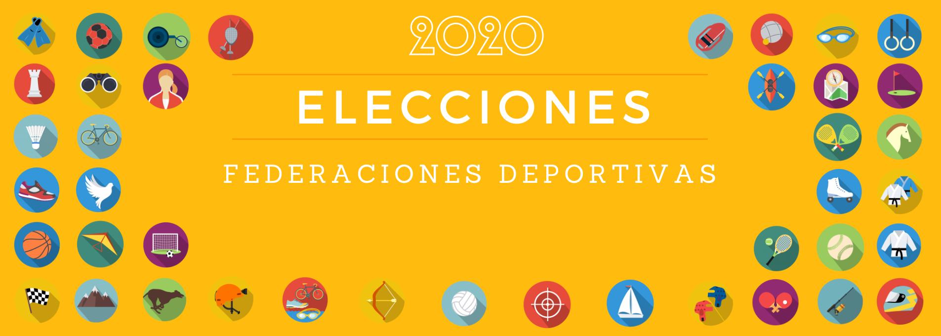 Procesos electorales federaciones deportivas