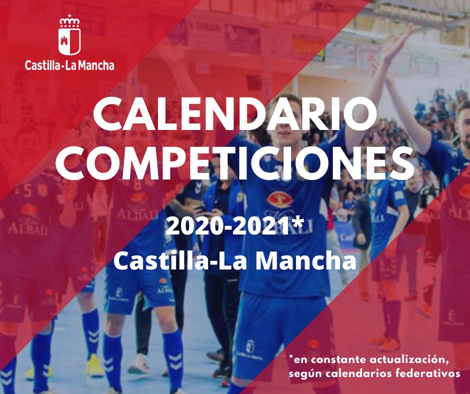 Calendario de competiciones federativas