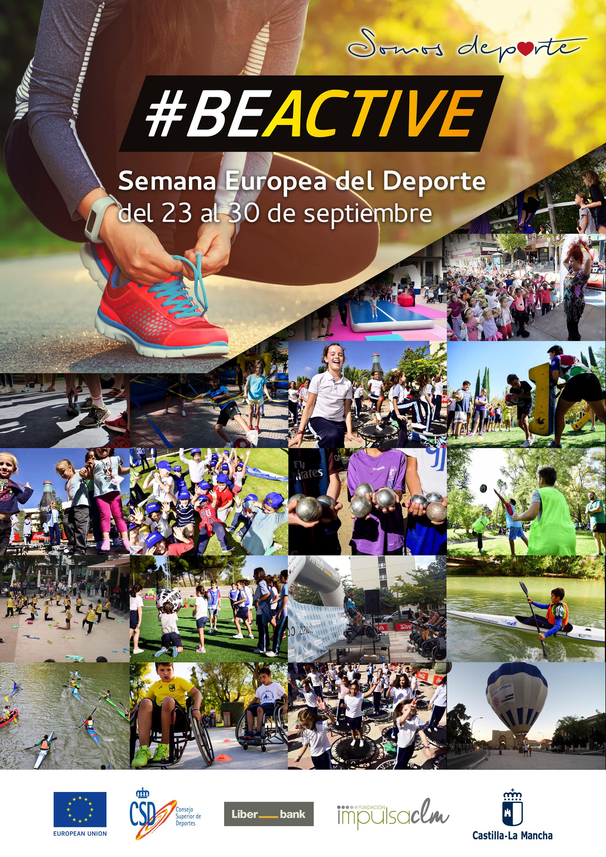 cartel Semana Europea Deporte 2018