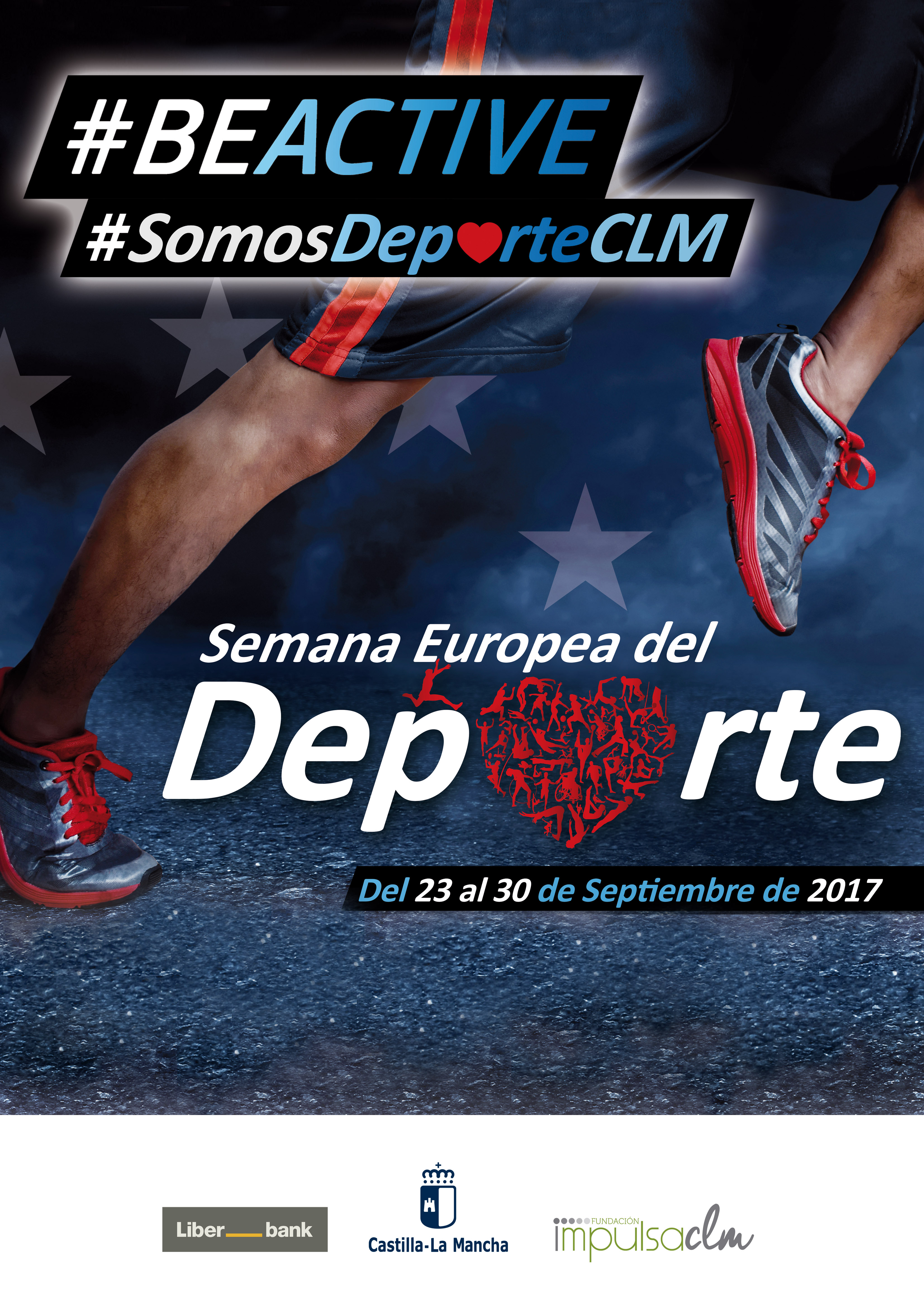 cartel Semana Europea del Deporte 2017