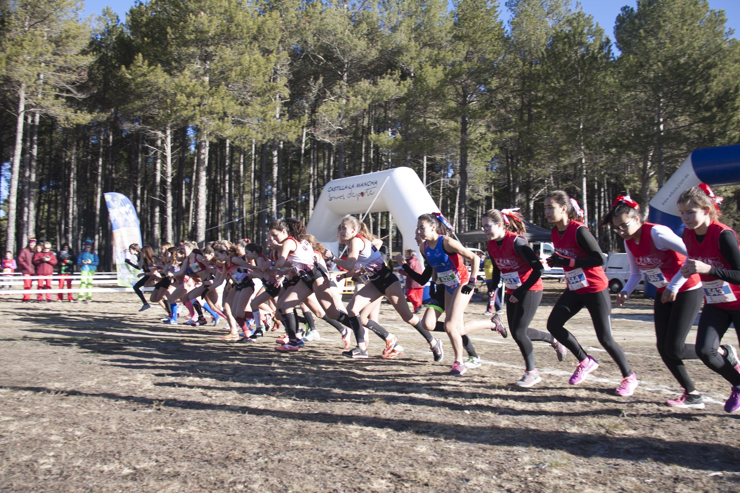 Campeonato Provincial de campo a través  -16 de diciembre de 2017.