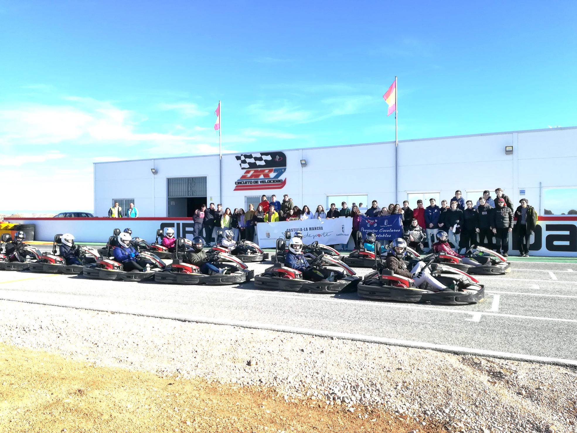 Karting con el IES La Hontanilla (Tarancón)