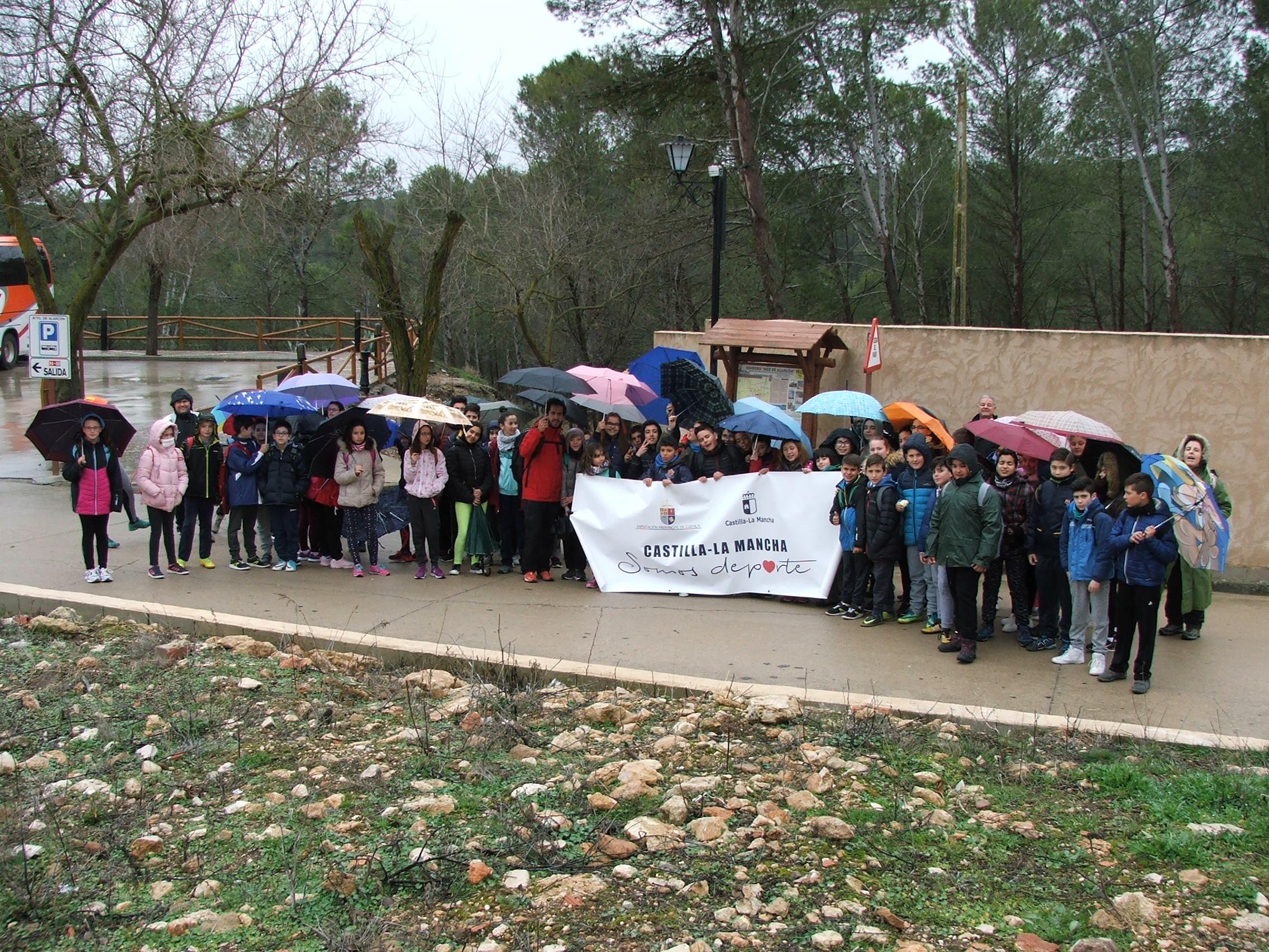 La lluvia no ha impedido la reanudación en Alarcón de las jornadas ...