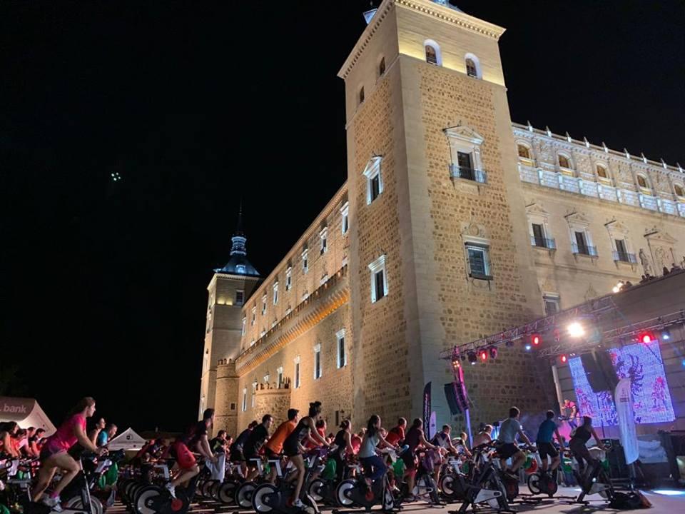 Maratón ciclo indoor El Alcázar Toledo SED 2018