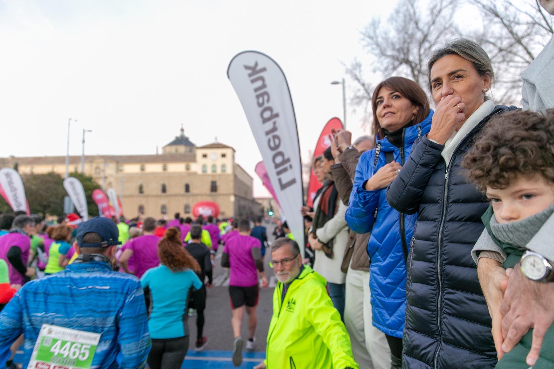 El Gobierno regional apoya la San Silvestre toledana, una seña de identidad no solo para el deporte en Toledo, sino de toda Castilla-La Mancha
