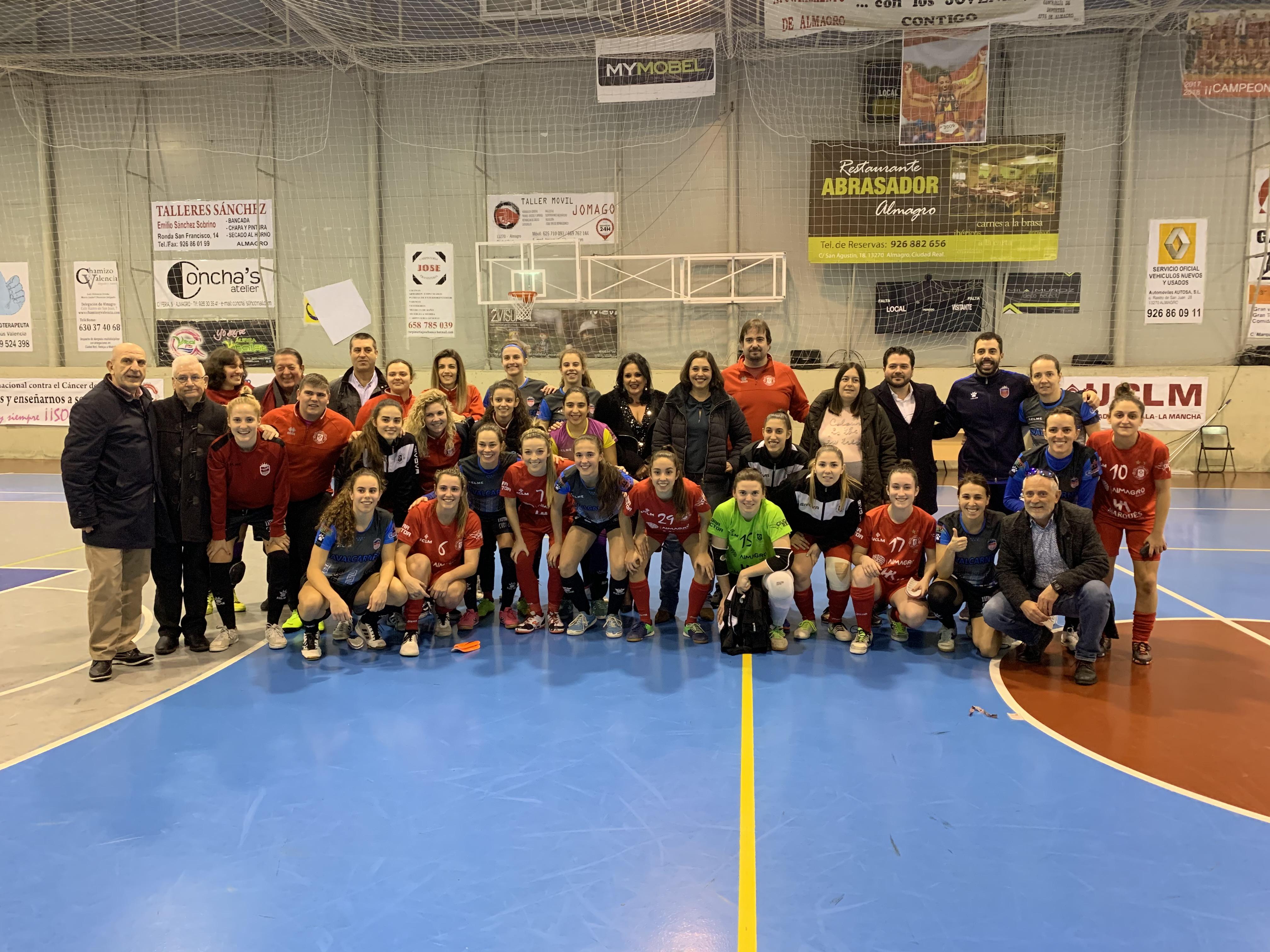 El Gobierno regional destaca la buena evolución del fútbol sala femenino en nuestra región