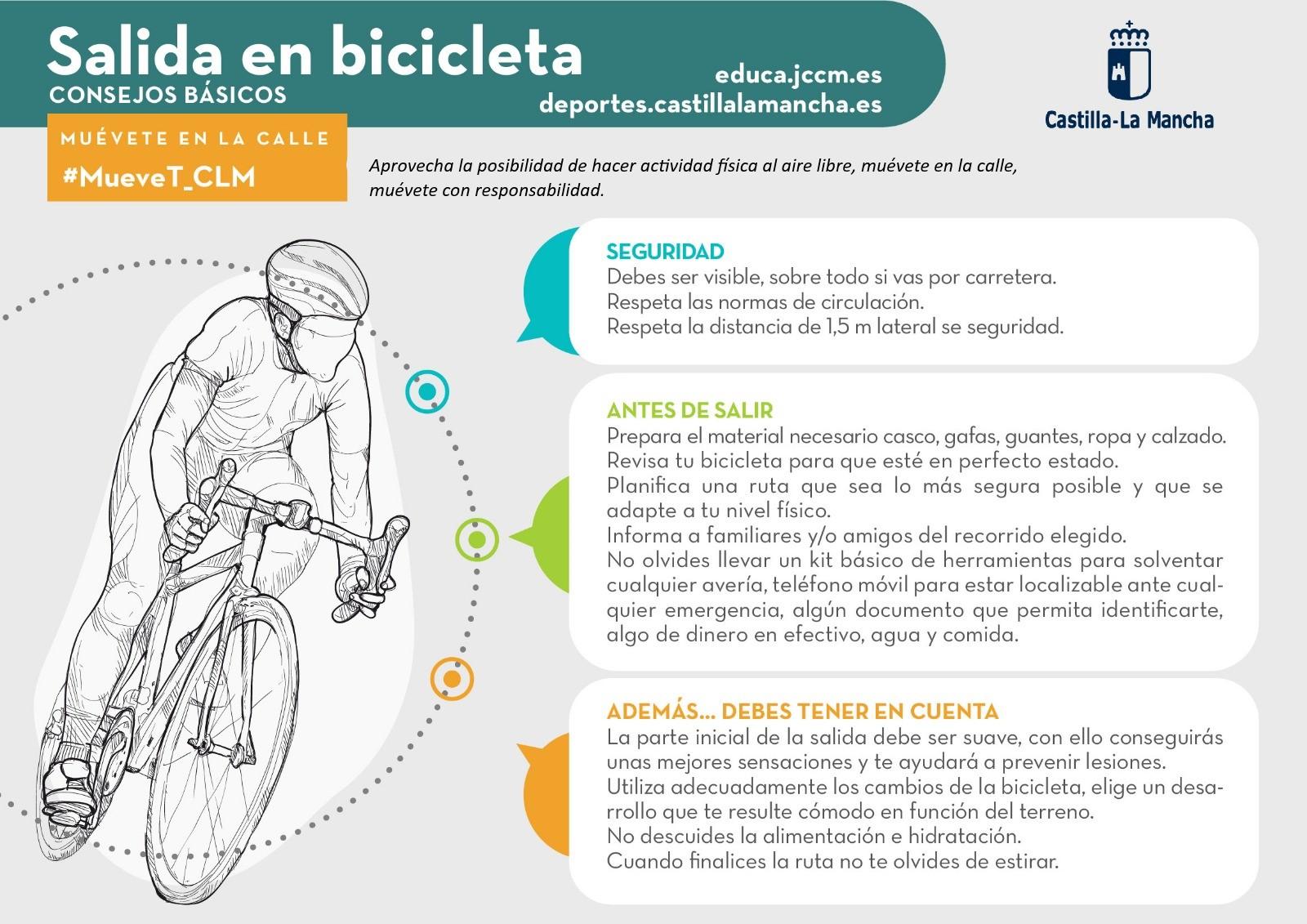 Salida en bicicleta