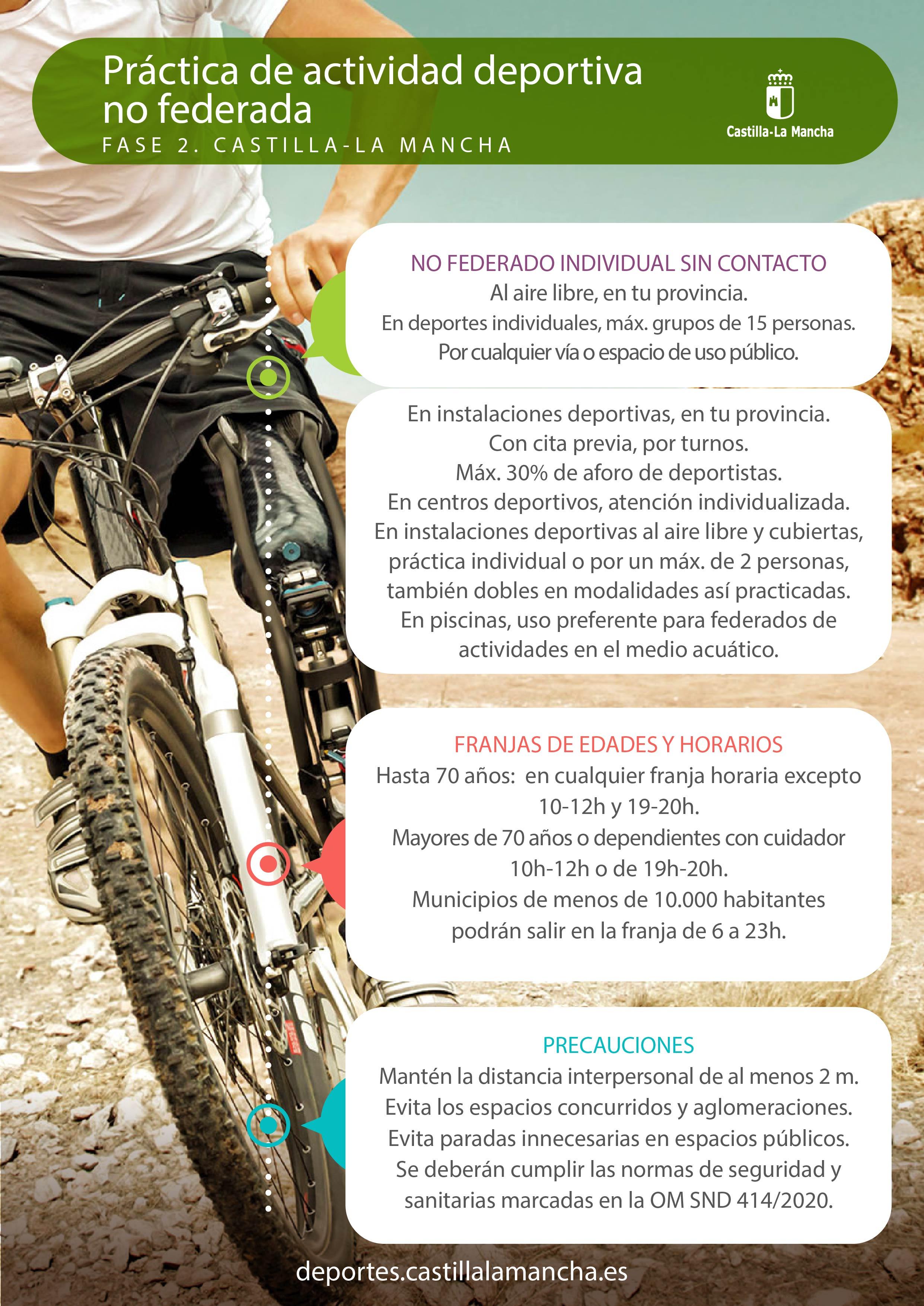 Fase 2 - CLM- Deporte no federado (01/06/2020)