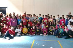 Jornada Miniatletismo divertido. Horcajo de Santiago.
