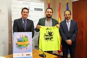 Rueda prensa presentación reto 'Castilla-La Mancha da la vuelta al mundo'