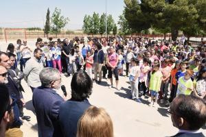 Completado el reto vuelta al mundo CP La Fuente  Nambroca (Toledo)