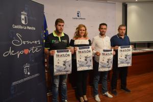 presentación Campeonato Regional de Triatlón en edad escolar Cuenca