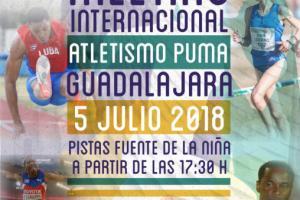 cartel Meeting atletismo Guadalajara