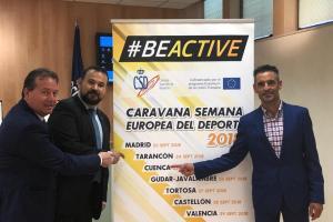 Presentación de la caravana BEACTIVE -Semana Europea del Deporte