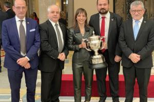 Entrega Premio Nacional del Deporte 2017 a Sandra Sánchez