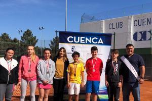 Campeonato Provincial de Tenis. Cadete. Cuenca 2019.