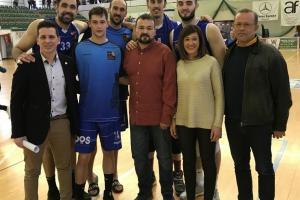 El Gobierno regional destaca el compromiso social del Baloncesto Afanion Almansa y el ejemplo de tener una mujer como presidenta
