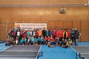 Foto Campeonato Provincial de Tenis de Mesa. San Clemente 2019.