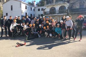 Vía ferrata. Actividades 16 - 18. Cuenca 2019.