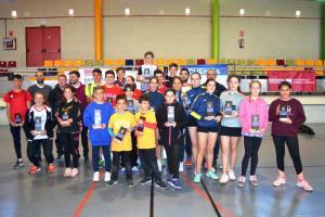 Campeonato Provincial de Bádminton. Fase Final. Cuenca 2019.
