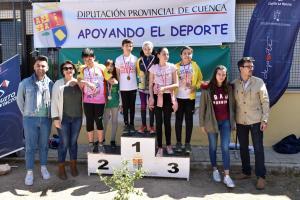 Campeonato Provincial de Orientación. Mota del Cuerva 2019.