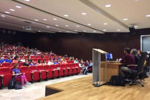 Encuentro sobre hábitos saludables en centros educativos Huesca