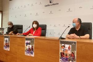 Noelia Pérez en la presentación del IV encuentro de Canción de Autor