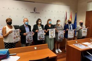 La consejera de Educación, Cultura y Deportes en la presentación del Trofeo JCCM