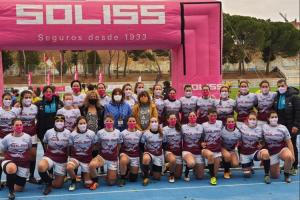 La directora general de Juventud y Deportes apoya al Rugby Toledo en su fase de ascenso