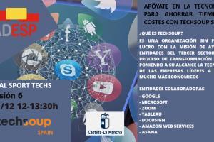 Foro de experiencias Digital Sport Techs, de ADESP en Castilla-La Mancha