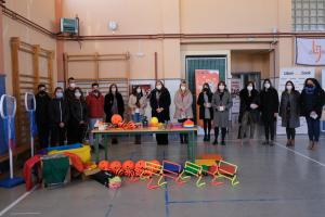 Entrega del primer premio del concurso activehacking para centros educativos
