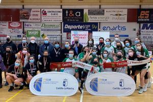 Final del trofeo JCCM de baloncesto femenino, en Alcázar de San Juan