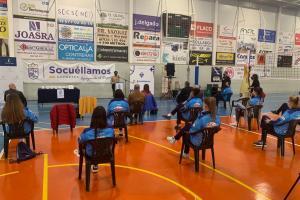 Acto de reconocimiento al Kiele Voleibol de Socuéllamos