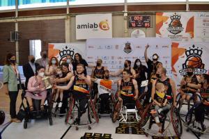 El director general de Juventud y Deportes, Carlos Yuste, ha asistido a la fase final de la Copa del Rey de Baloncesto en silla de ruedas