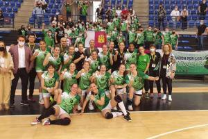 l director general ha estado durante este fin de semana, en Logroño, apoyando al CB Bolaños en la fase de ascenso a la División de Honor del Balonmano Femenino
