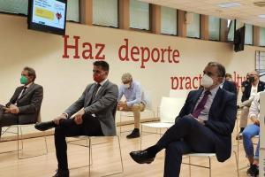 El director general de Juventud y Deportes junto al presidente del CSD, José Manuel Franco