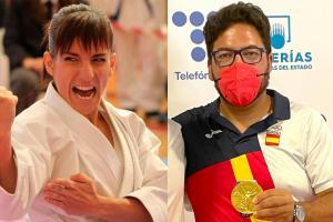 Sandra Sánchez y Alberto Fernández, dos medallas de oro para Castilla-La Mancha