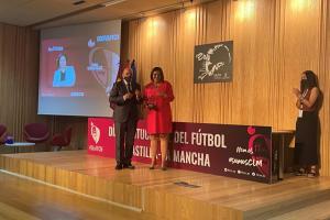 El día institucional del fútbol en Castilla-La Mancha contó con la presencia de la viceconsejera de cultura y deporte