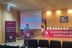 El día institucional del fútbol en Castilla-La Mancha contó con la presencia del director general de juventud y deportes