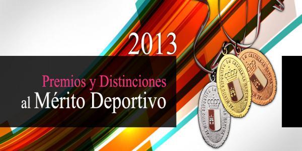 Premios y distinciones al mérito deportivo - 2013