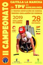 II Campeonato Castilla la Mancha de TPV en Espeleología 2019: 28 de Septiembre en Chillarón de Cuenca
