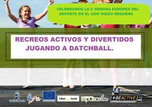 Recreos activos y divertidos jugando a datchball