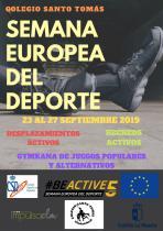 SEMANA EUROPEA DEL DEPORTE SANTO TOMAS 2019
