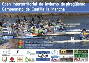 Póster XV Campeonato Open Interterritorial de Piragüismo de Castilla LM