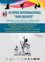 III OPEN DON QUIJOTE DE TAEKWONDO