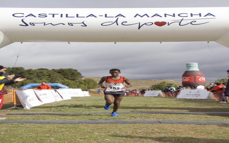 Mesfin Escamilla Saiz, actual campeón regional de cross en categoría infantil (Tarancón, 2017)