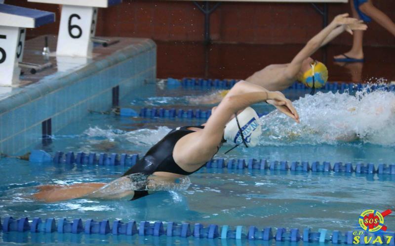 Segunda jornada fase provincial de natación en Cuenca