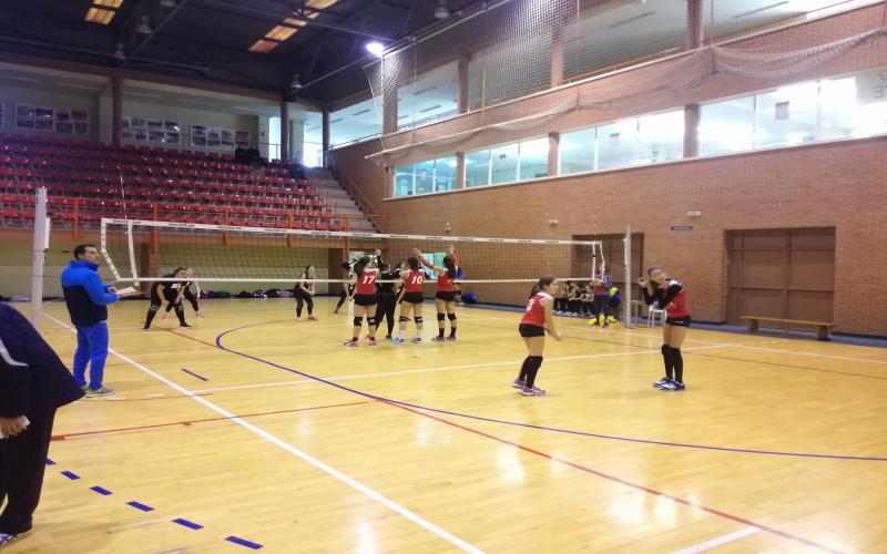 Tercer jornada competición Voleibol Infantil y Cadete Femenina