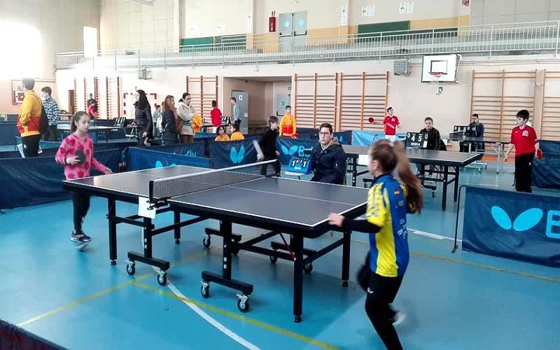 Jornada Campeonato Pronvincial Tenis de Mesa Cuenca