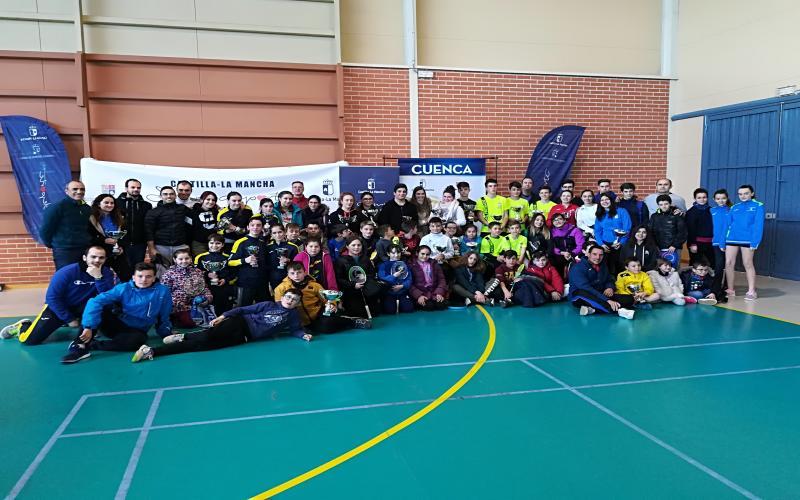 Participantes Final Provincial de Bádminton Cuenca 2018